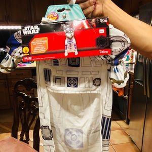 Star Wars R2 D2 Pet Costume NWT